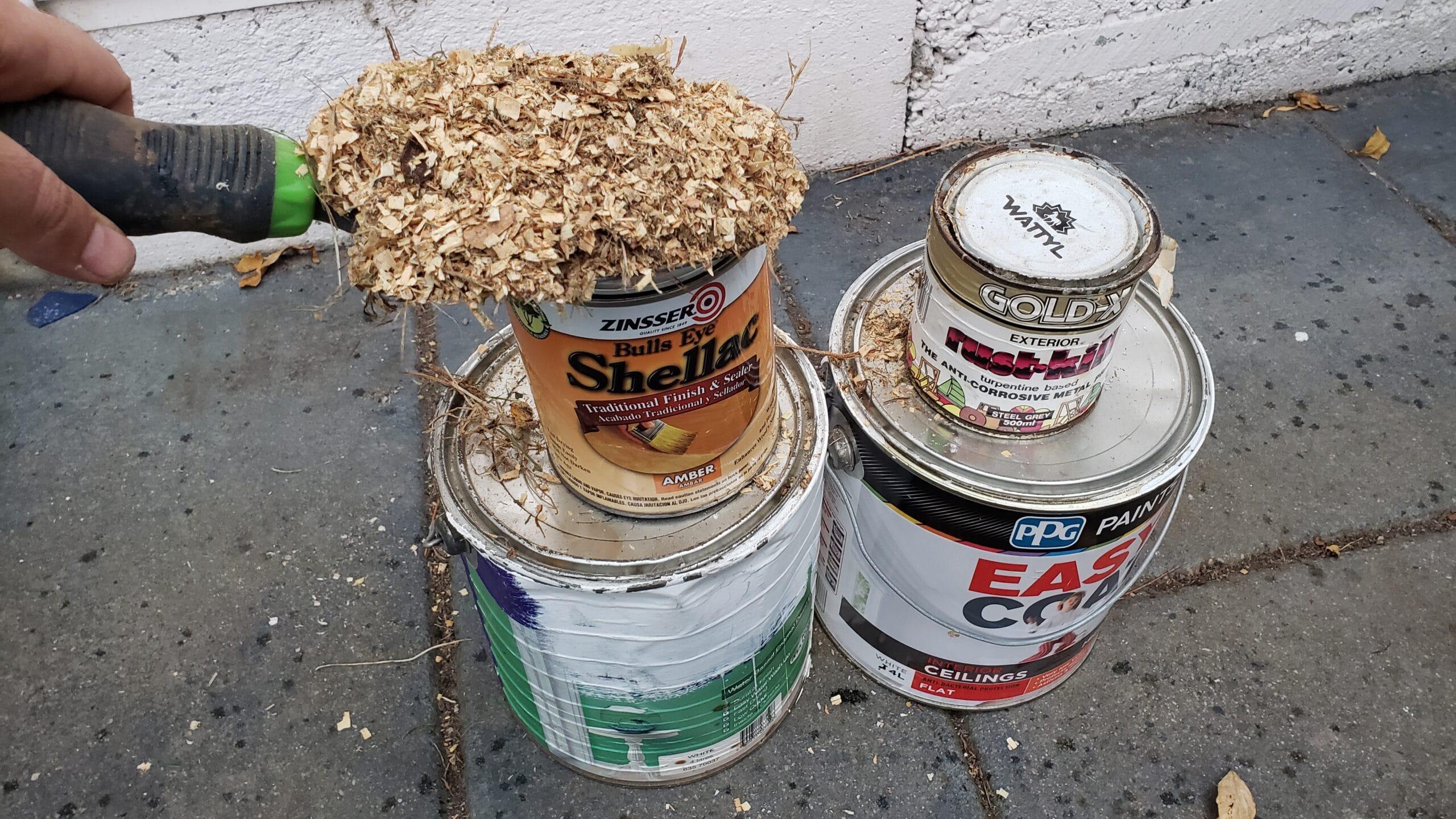 wood shavings uses