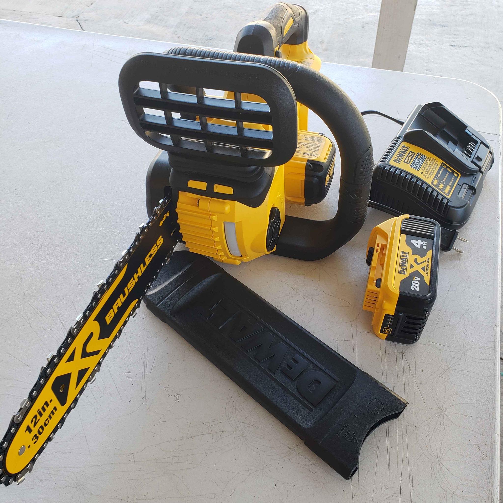 dewalt 20v chainsaw review