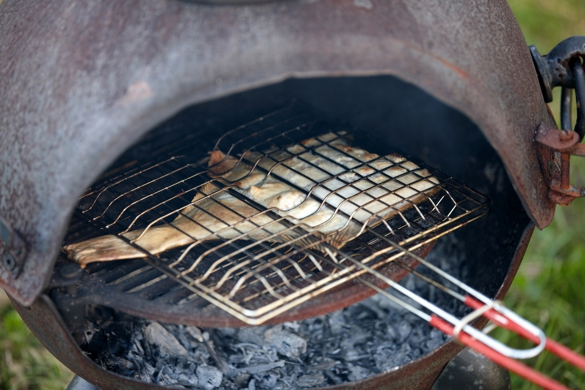 how to use a chiminea for cooking