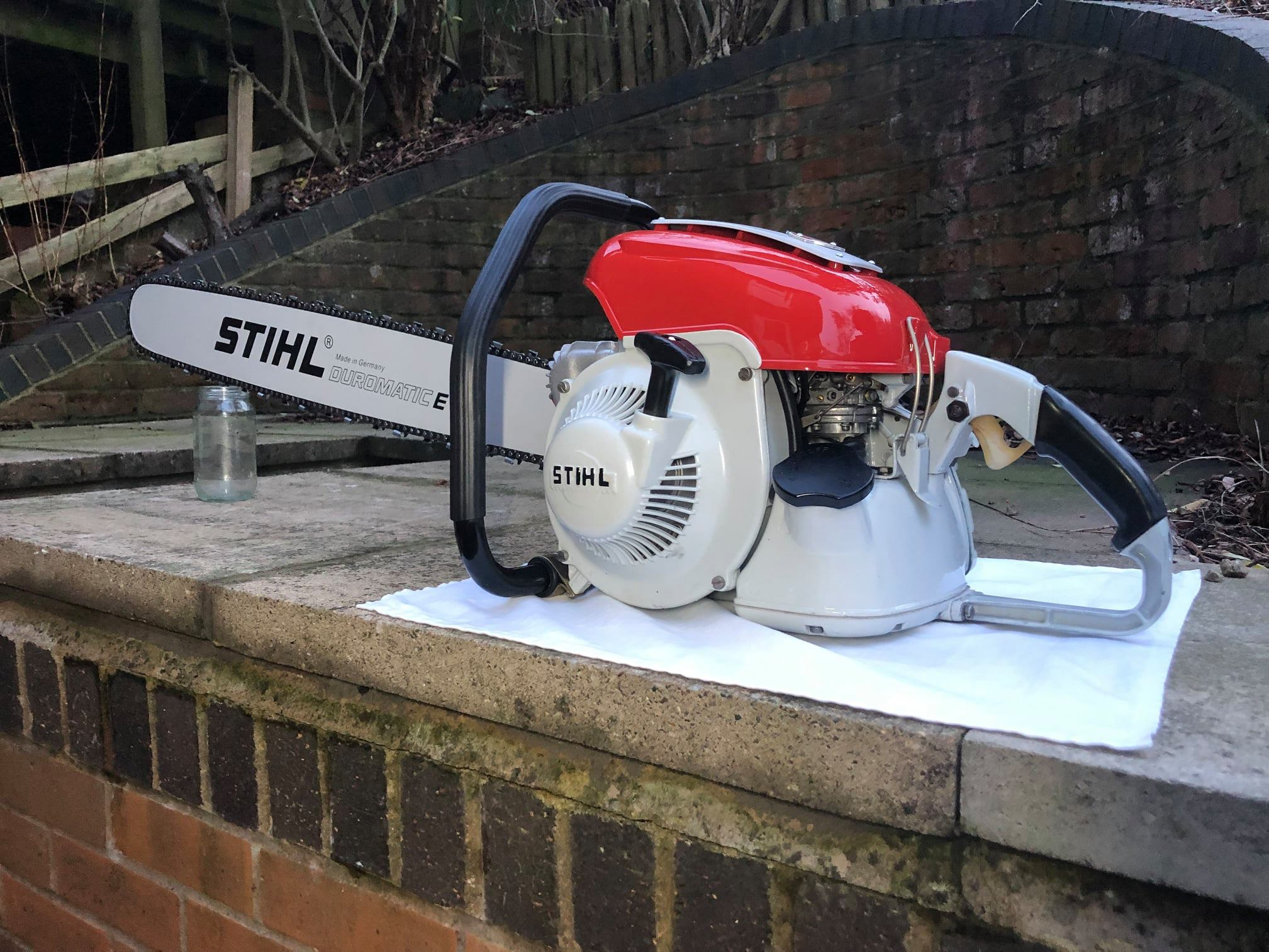 Stihl chainsaw production years from 1950 to today